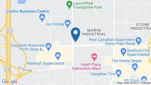 Travelodge by Wyndham Edmonton West Map