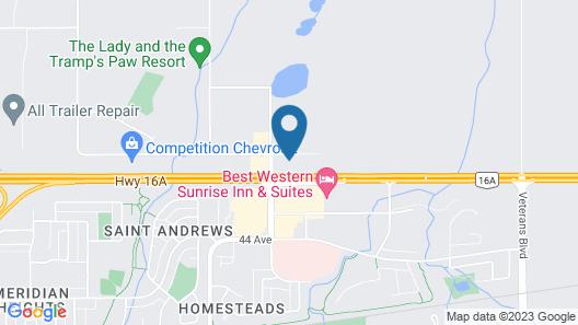 Travelodge by Wyndham Stony Plain Map