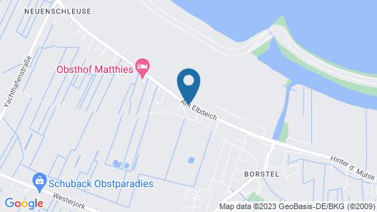 Hotel vom Land zum Meer Map