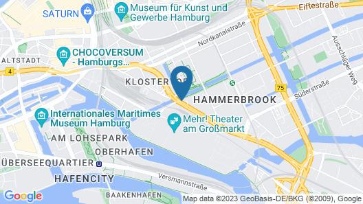 Mercure Hotel Hamburg City Map