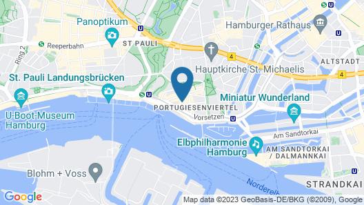 Hotel Stella Maris Map