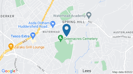 Greater Manchester Immaculate Cozy Home Map