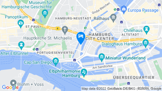 Motel One Hamburg-Fleetinsel Map