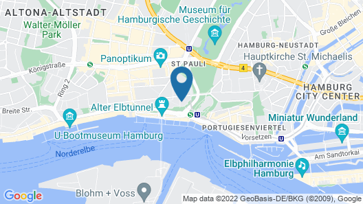 Hotel Hafen Hamburg Map