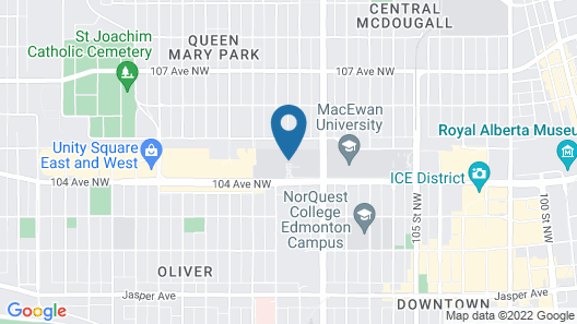 MacEwan University Residence Map