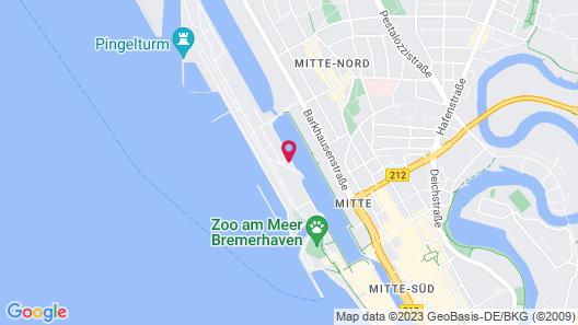 Im-Jaich OHG Hotel Bremerhaven Map