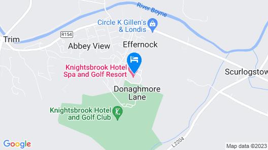 Knightsbrook Hotel Spa & Golf Resort Map