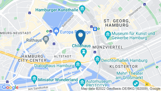 Hapimag Resort Hamburg Map