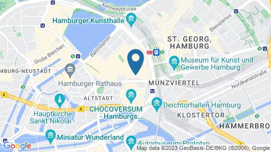 Apartment Residences at Park Hyatt Map