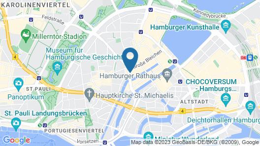Tortue Hamburg Map
