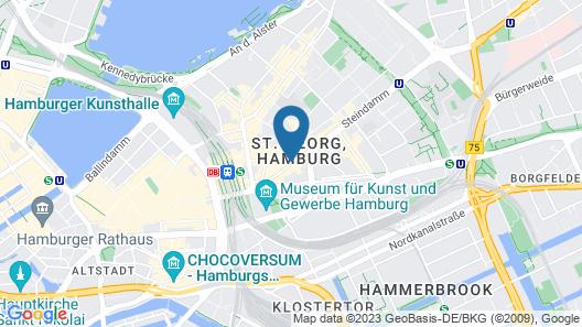 Hotel Lumen am Hauptbahnhof Map