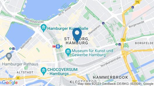 Hotel Residence am Hauptbahnhof Map