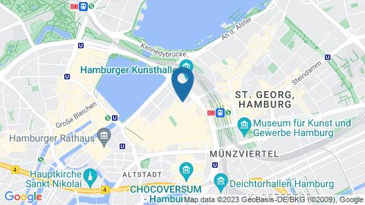 Eric Vökel Boutique Apartments - Hamburg Suites Map