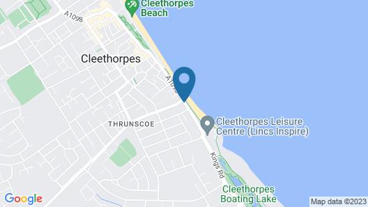 Kingsway Hotel Cleethorpes Map