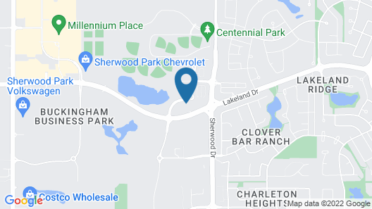 Days Inn & Suites by Wyndham Sherwood Park Edmonton Map