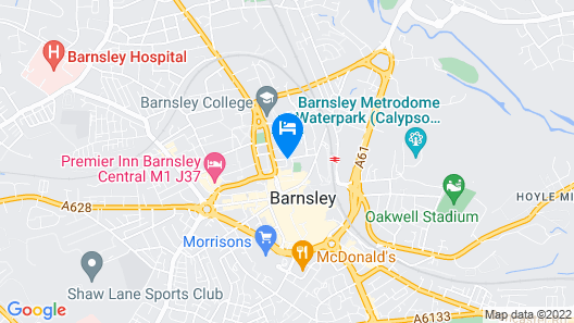 Barnsley Suites Map
