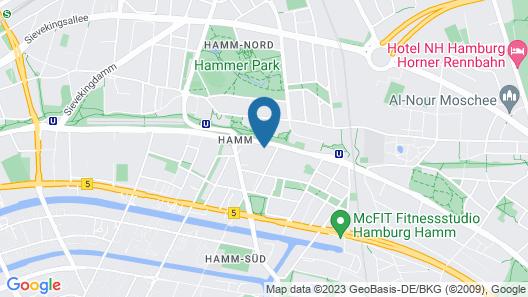a&o Hamburg Hammer Kirche Map