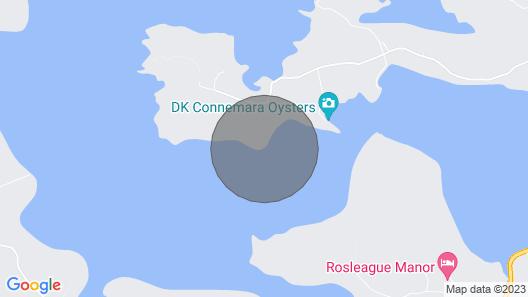 Oyster Bay House, Dawrosbeg, Connemara, Co Galway Map