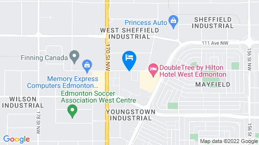 Staybridge Suites West Edmonton, an IHG Hotel Map