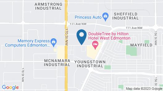 Staybridge Suites West Edmonton Map