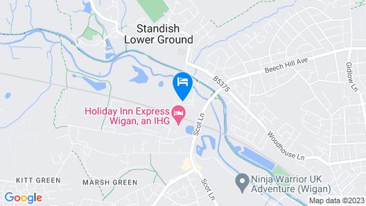 Holiday Inn Express Wigan Map