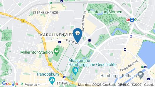 NH Collection Hamburg City Map