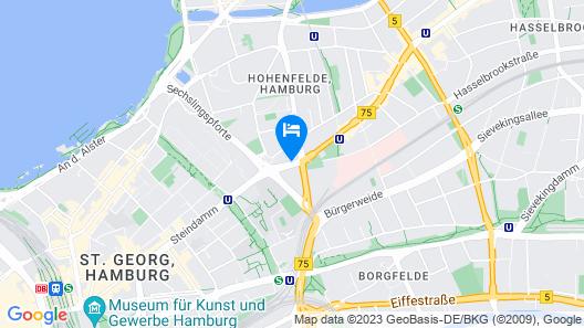 Novotel Hamburg City Alster Map