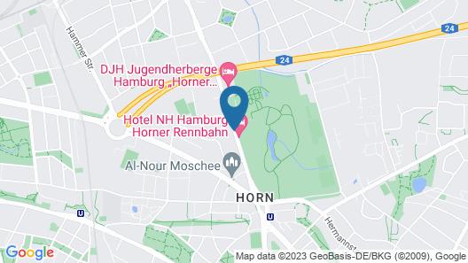 NH Hamburg Horner Rennbahn Map