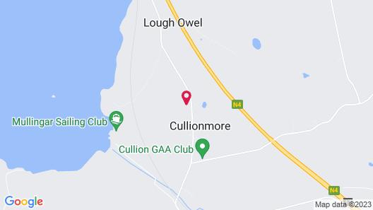 Lough Owel Lodge Map