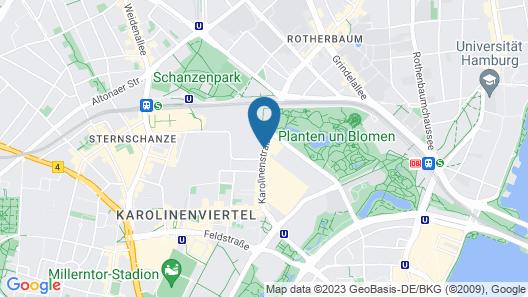 IntercityHotel Hamburg Dammtor-Messe Map