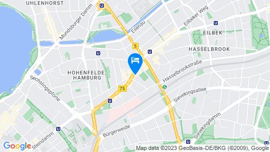 Hamburg Apart Map