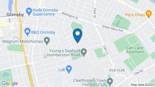Humberstone House Map