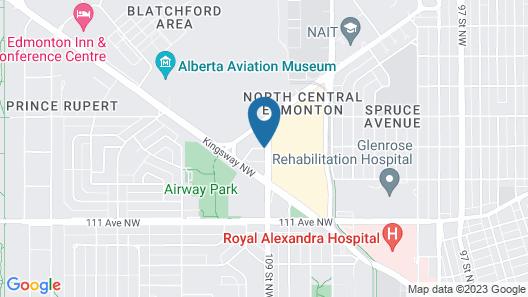 Best Western Plus City Centre Inn Map