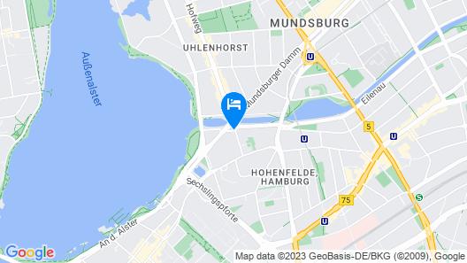Hotel Mare Map