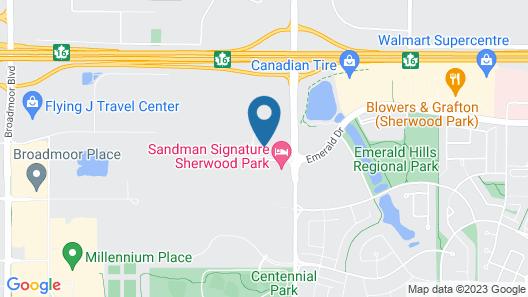 TownePlace Suites by Marriott Edmonton Sherwood Park Map