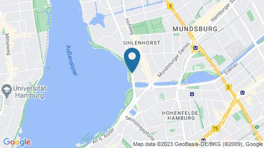 Hotel Alsterblick Map
