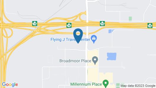 Super 8 by Wyndham Sherwood Park/Edmonton Area Map