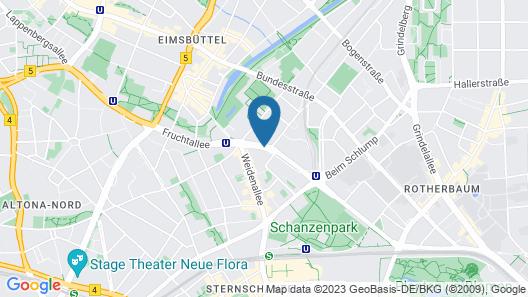 NH Hamburg Mitte Map