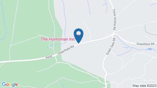 The Huntsman Inn Map