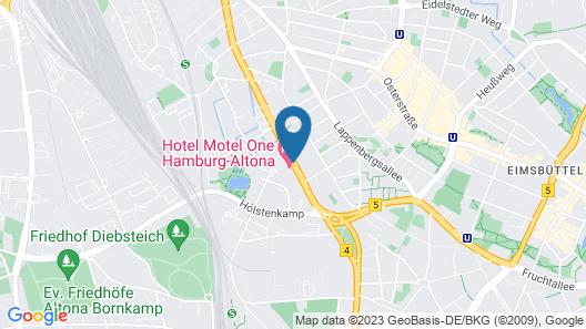 Motel One Hamburg-Altona Map