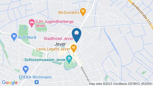Stadthotel Jever Map