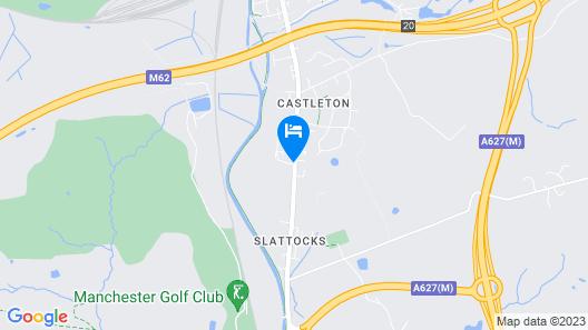 Mercure Manchester Norton Grange Hotel & Spa Map