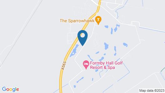 Formby Hall Golf Resort & Spa Map