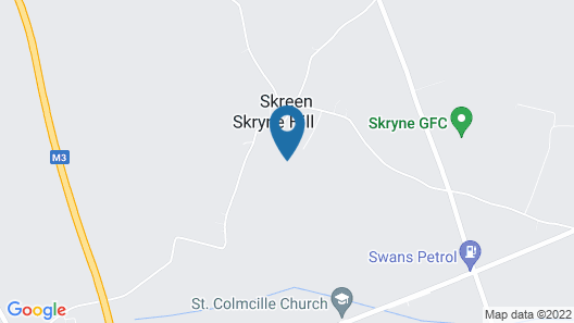 Skryne Castle Built in 1142 Map