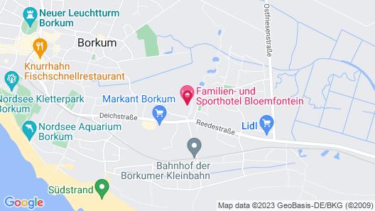 Familien- und Sporthotel Bloemfontein Map