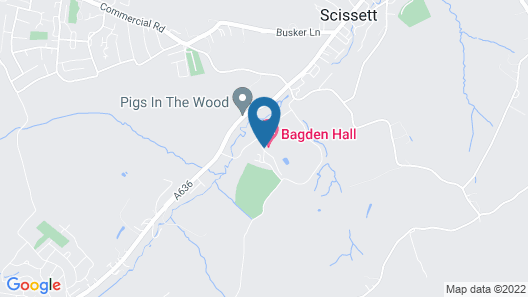 Classic Lodges - Bagden Hall Hotel Map