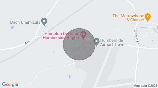 Nightel - Humberside Airport - Single En-suite Studio Map