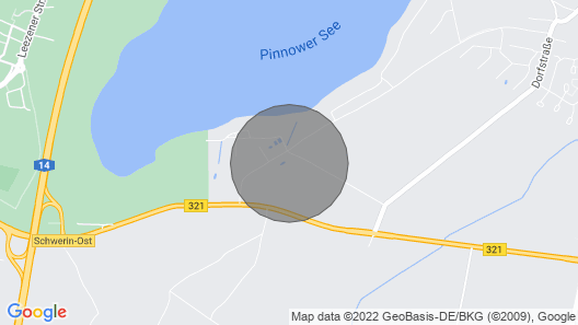 2 Bedroom Accommodation in Pinnow Map