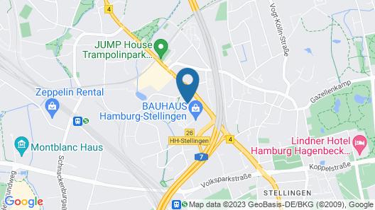sylc. Apartmenthotel Map