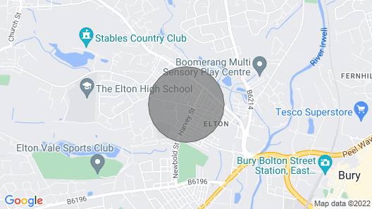 Key Workers/ 2bed Close to Cygnet Hospital Bury Map